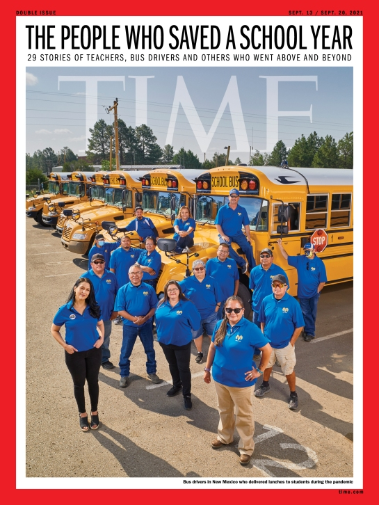 People Who Saved a School Year Time Magazine