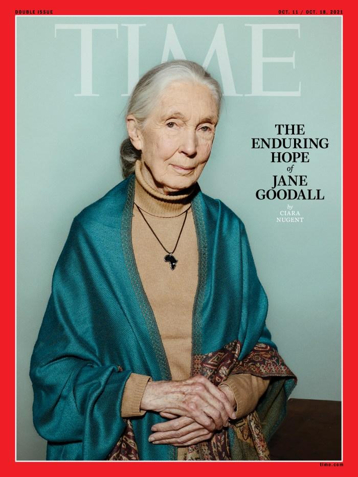 Jane Goodall Time Magazine cover