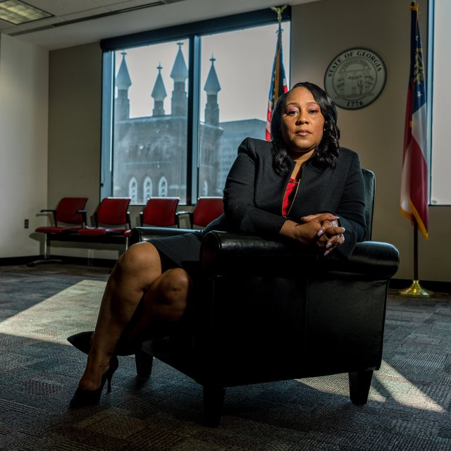 Fani Willis on the Atlanta Shootings and Donald Trump