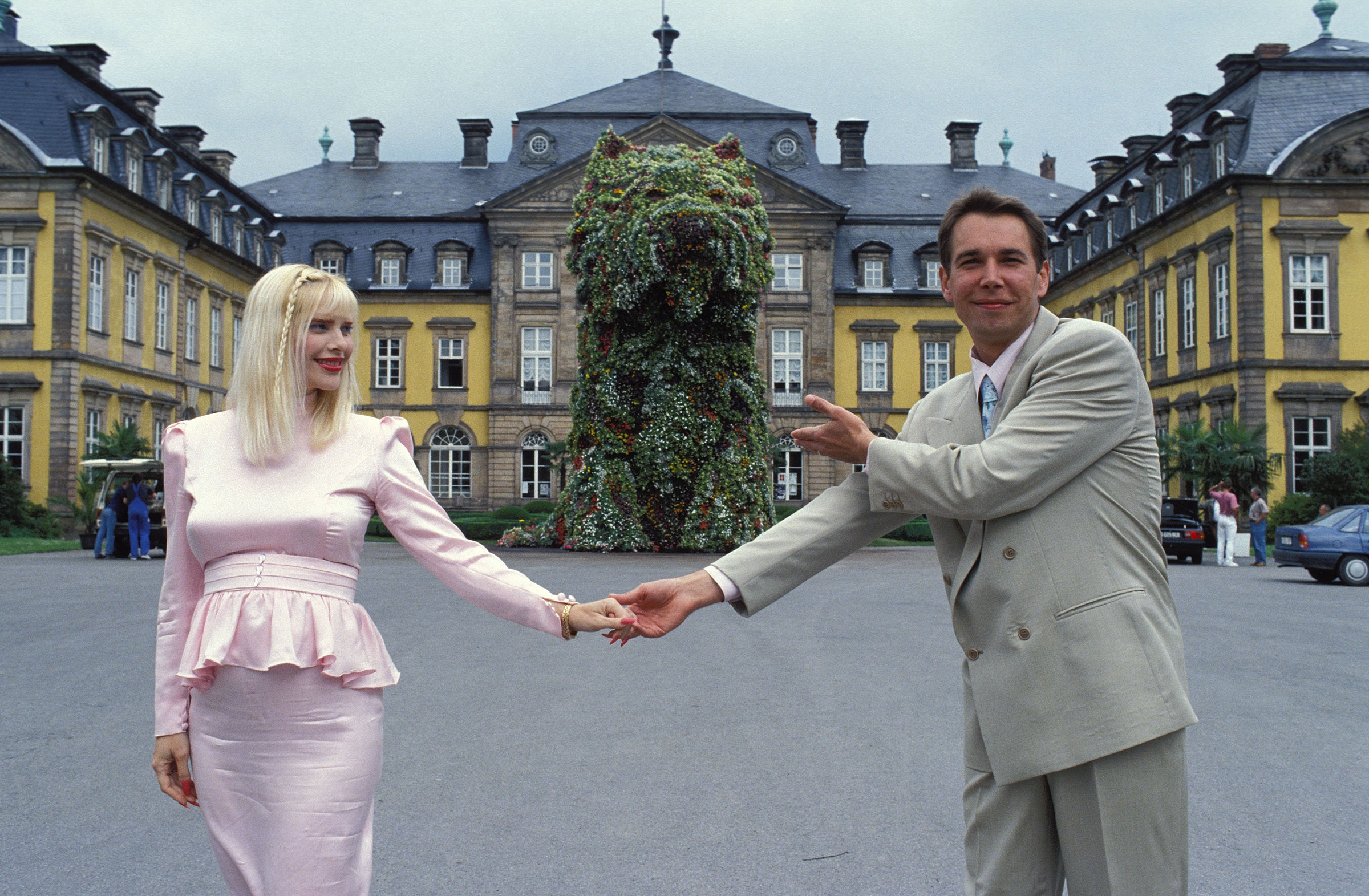 Artist Jeff Koons and actress llona Staller in Bad Arolsen, Germany, June 1992. Kroll was hired to investigate Staller during the couple's divorce in the 1990s.