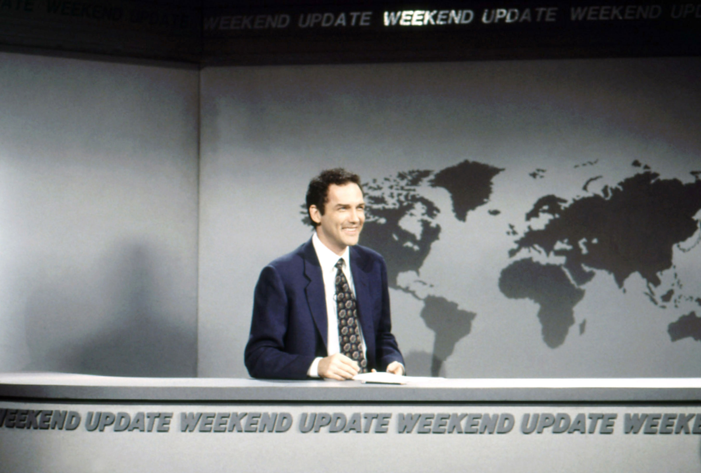 Norm Macdonald during the Weekend Update segment on Saturday Night Live on Dec. 14, 1996.