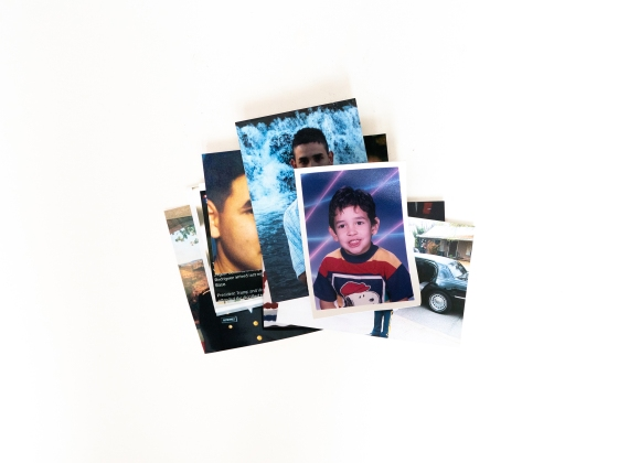 A stack of photos from throughout Jaguar's life.