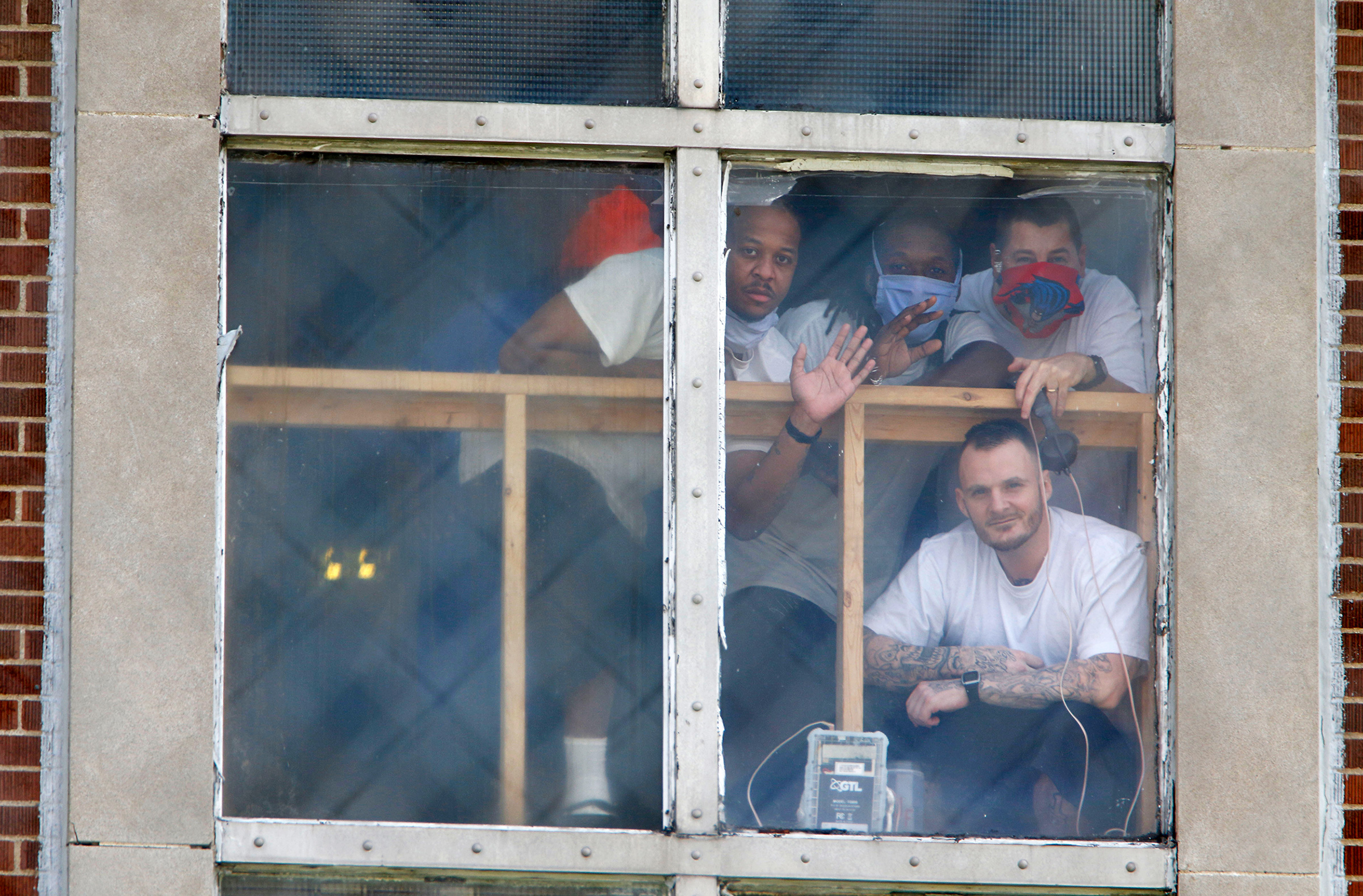 Prisoners at the Westville Correctional Facility in Westville, Ind., demand more humane treatment