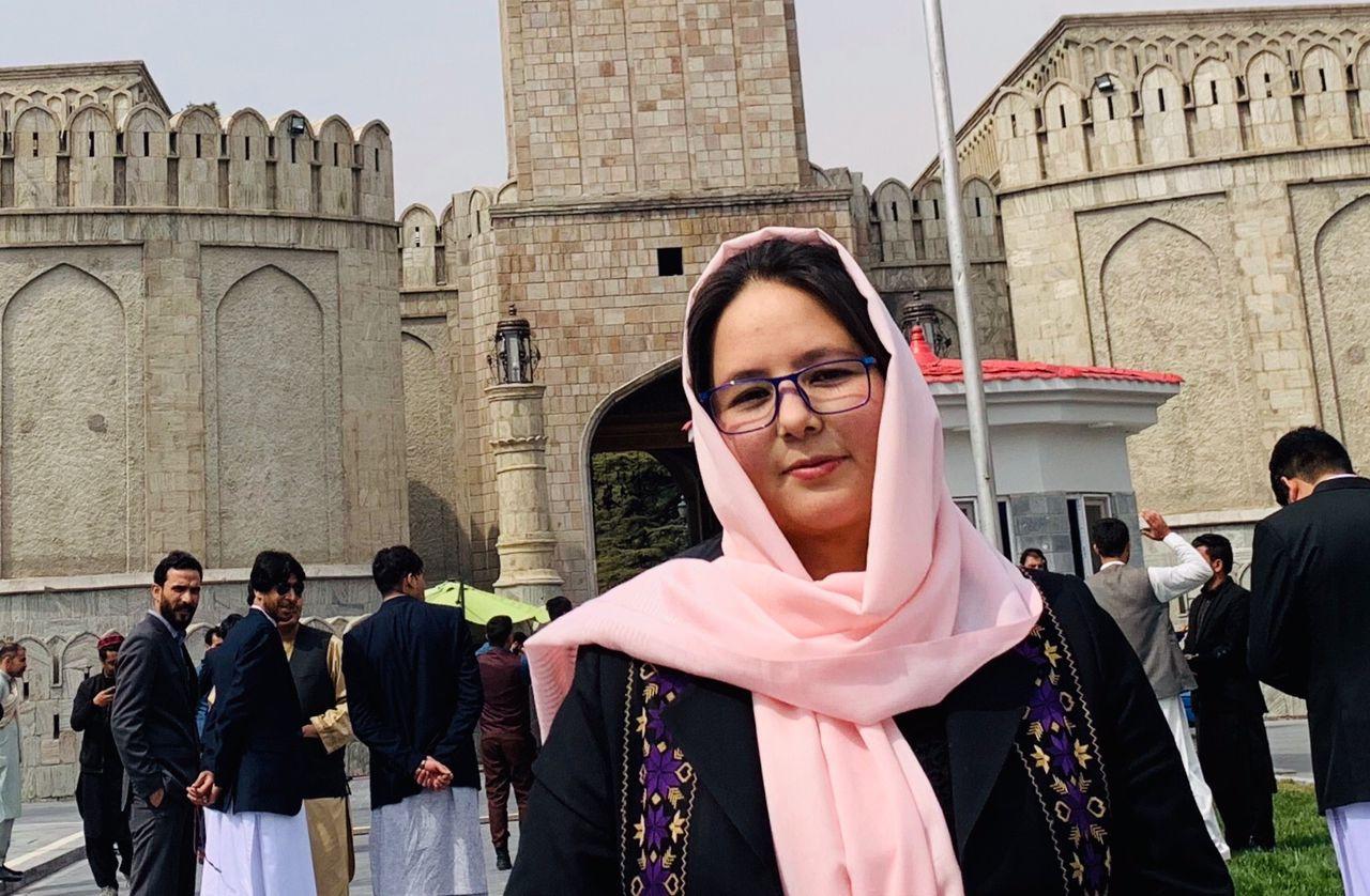 Afghan journalist Zahra Joya
