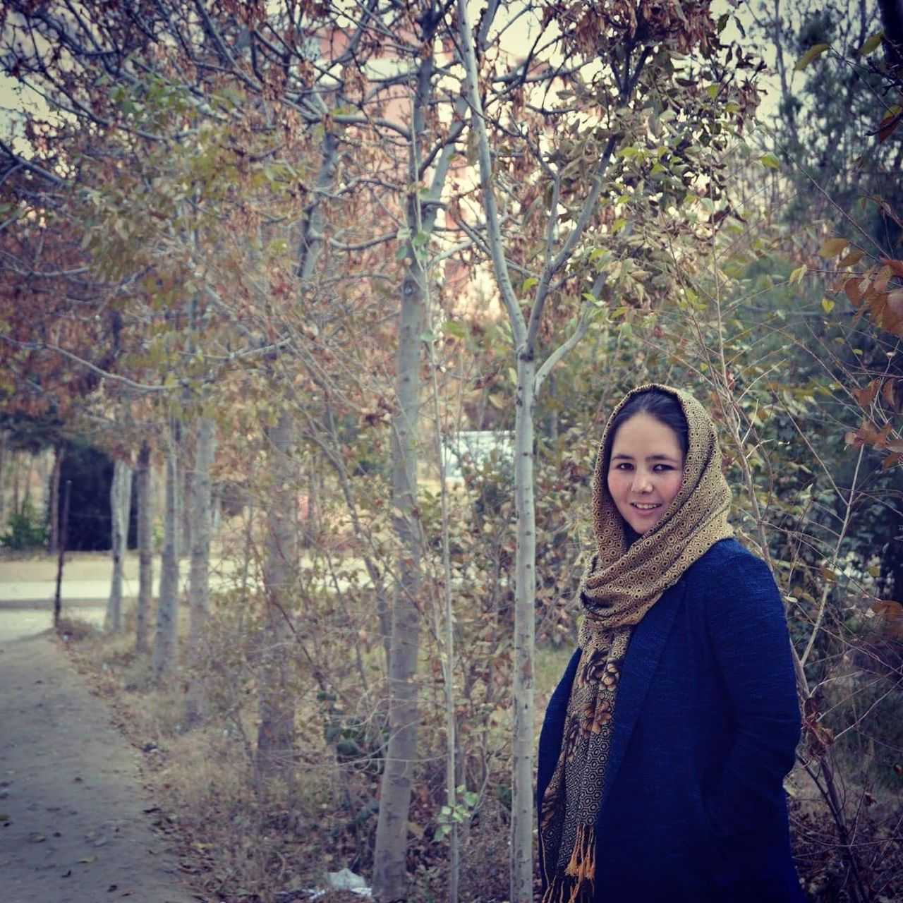 Afghan journalist Zahra Joya fled to the U.K. after the Taliban takeover of Kabul.
