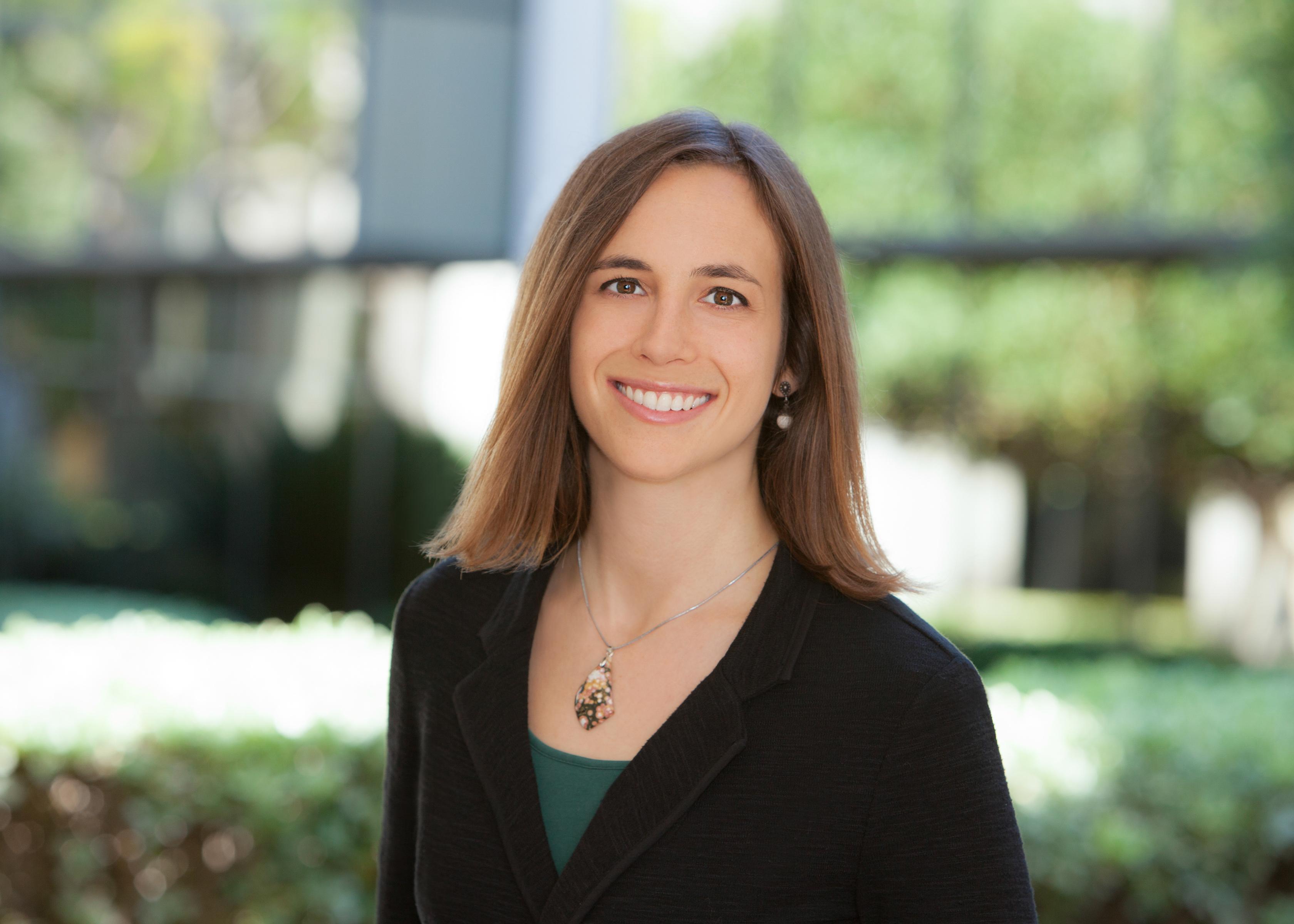 Alyssa Gutner-Davis, a student at Boston University's Questrom School of Business.