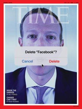 Facebook Mark Zuckerberg Time Magazine Cover