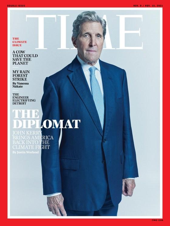 John Kerry Time Magazine Cover