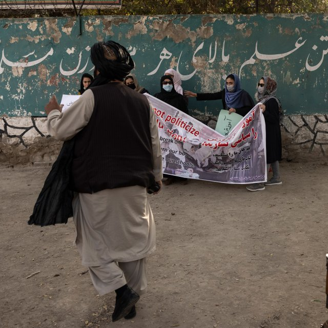 Afghan Women, Banned from Education, Secretly Study Online