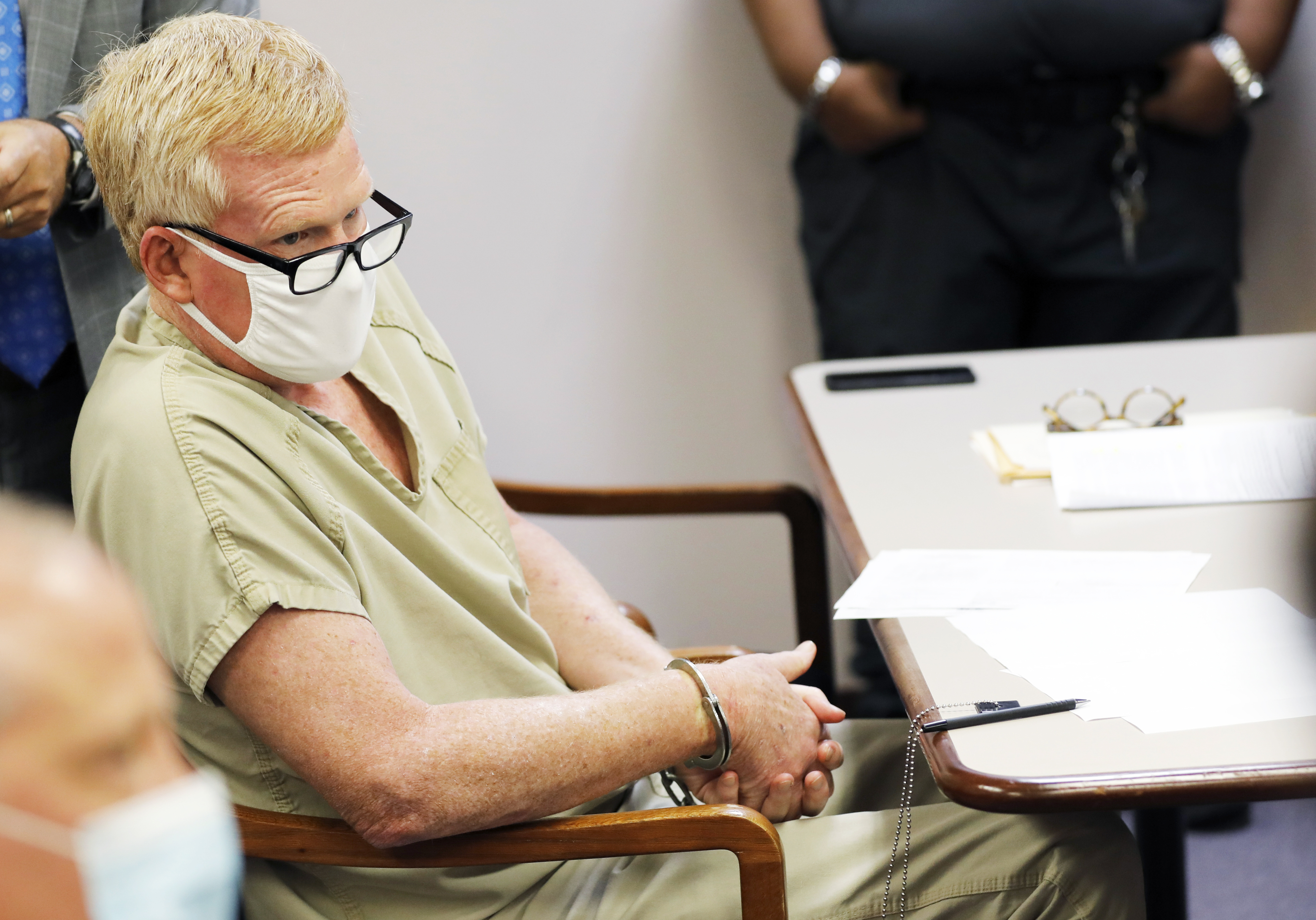 Alex Murdaugh at a bond on Sept. 16, 2021, in Varnville, S.C.