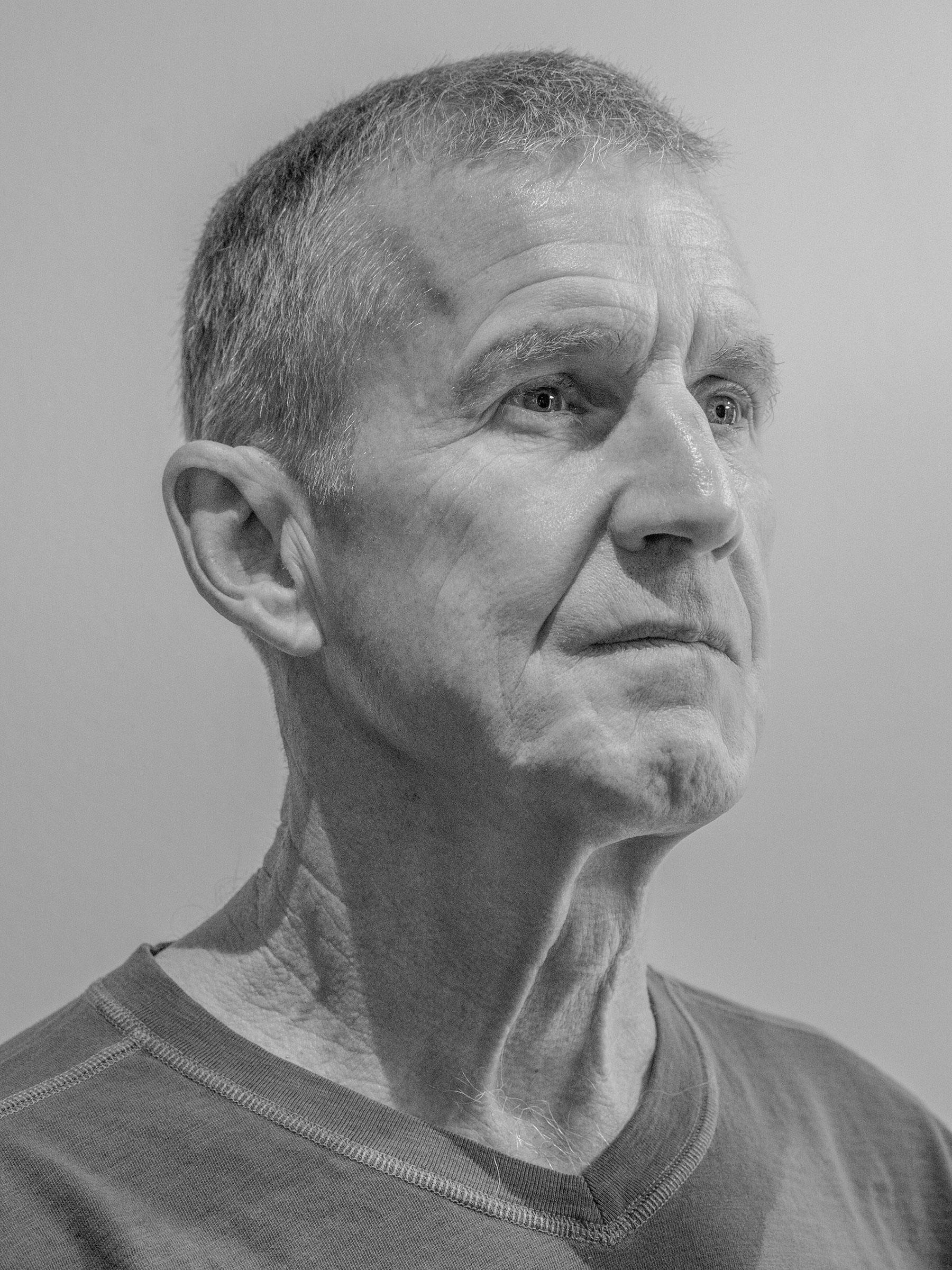Gen. Stanley McChrystal photographed in Alexandria, Va. on Oct. 9, 2021.