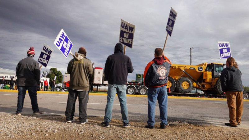 How Unions Are Struggling to Catch Up to Worker Anger
