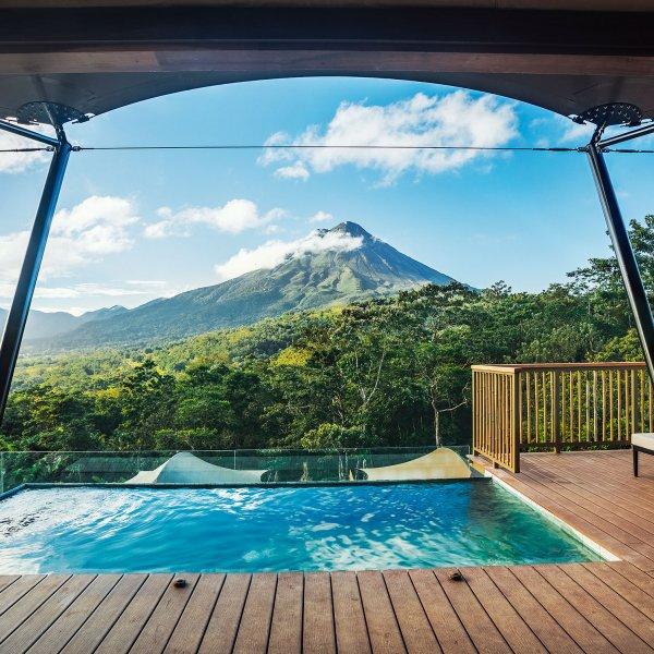 Nayara Tented Camp in Arenal Volcano National Park, Costa Rica.