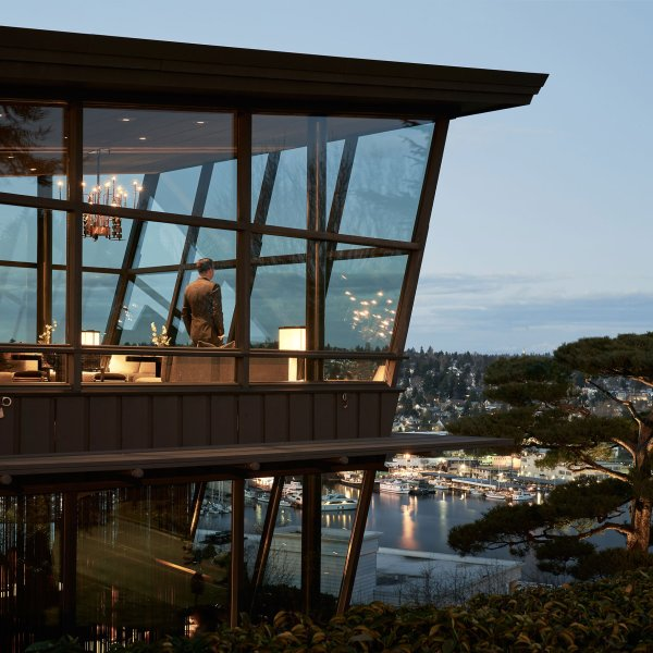 Canlis restaurant in Seattle.